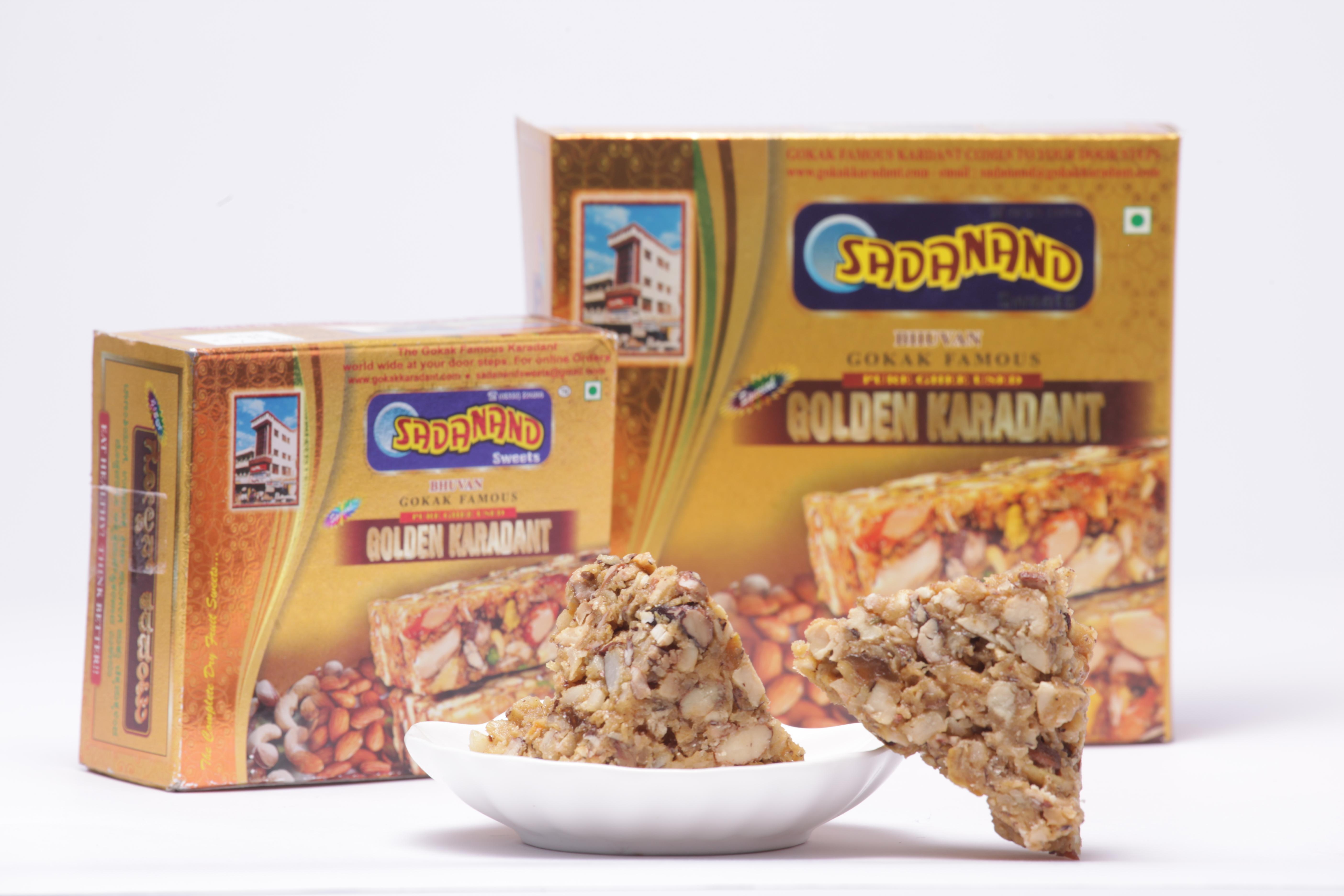 Premium golden KARADANTU 500 gms