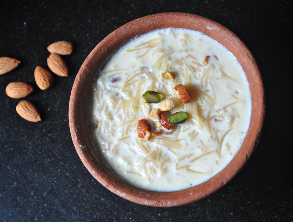 Semiya Payasam with Condensed Milk-Quick Vermicelli Kheer Recipe ...